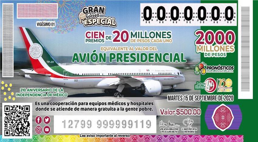 cachito avión presidencial