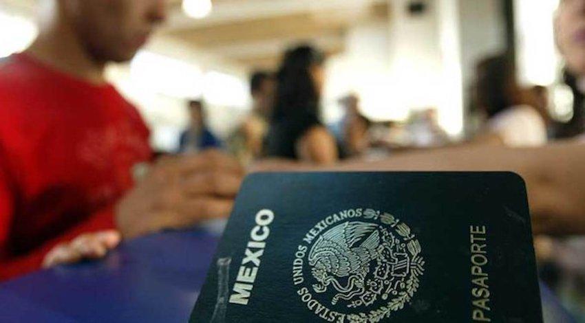 Pasaporte SRE