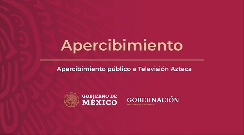 Segob TV Azteca