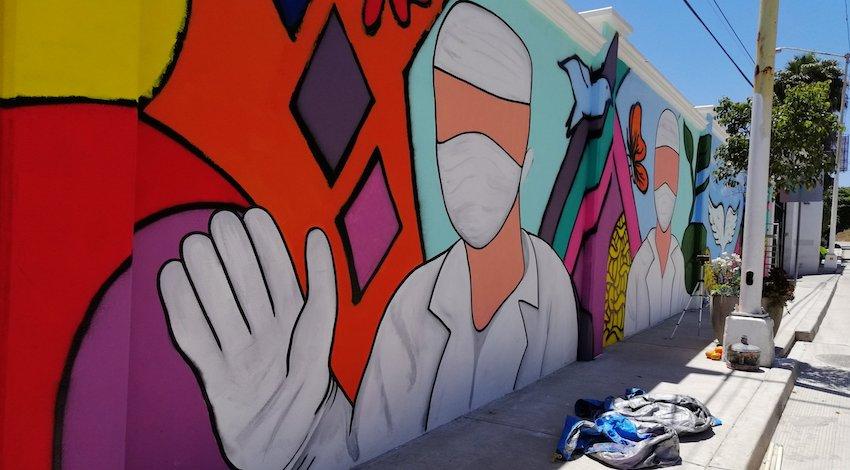 Mural Tijuana Covid-19