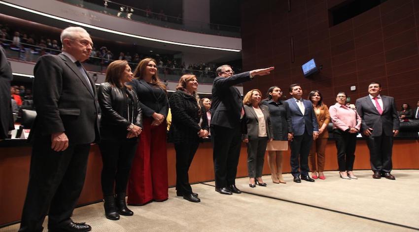 Senado avala nombramiento de Marcelo Ebrard