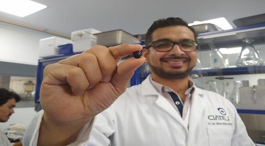 Doctor Mojica trabaja con el frijol