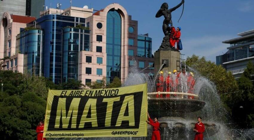 Greenpeace pide a Salud acatar recomendación de CNDH para evitar más daños por contaminación atmosférica