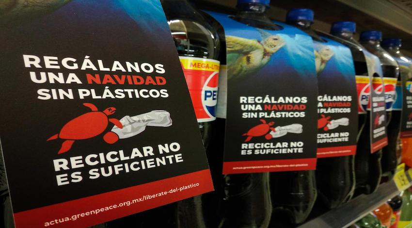 Greenpeace plásticos