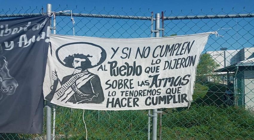 Toma de instalaciones de Conagua en Xalapa, Veracruz
