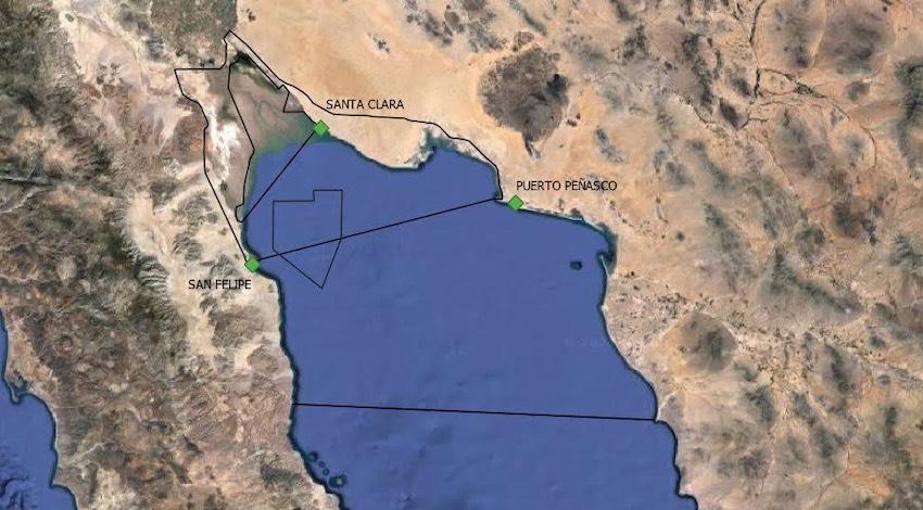 Mapa Embargo Pesquero
