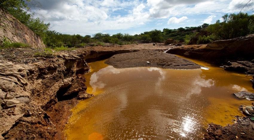 Río Sonora contaminación