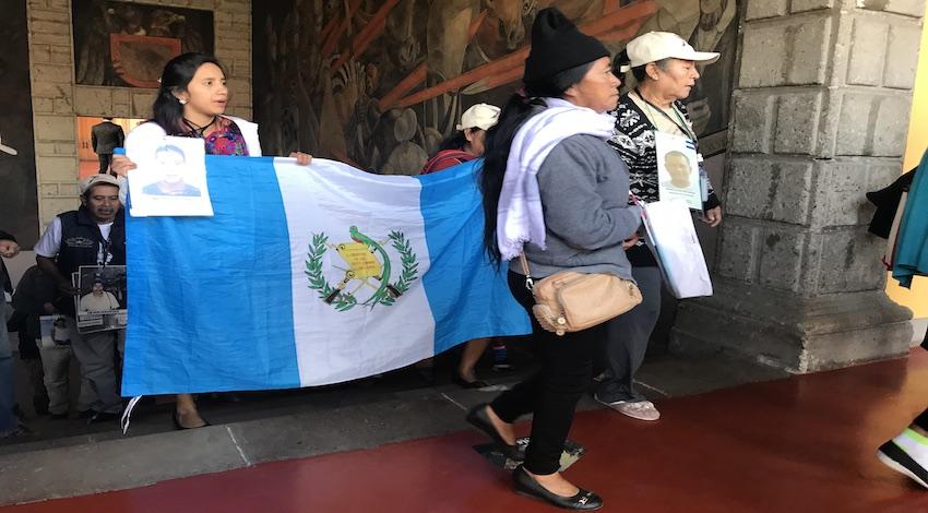 Madres migrantes centroamericanos desaparecidos