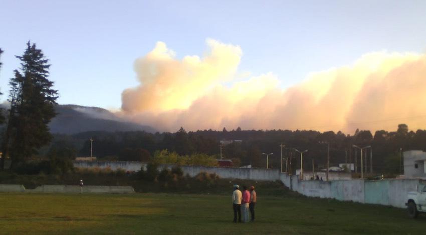 Incendio Forestal Veracruz
