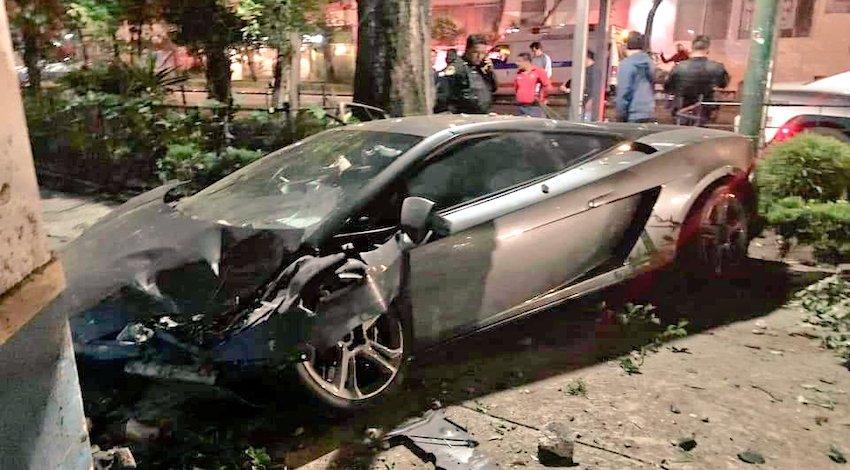 Choca Lamborghini