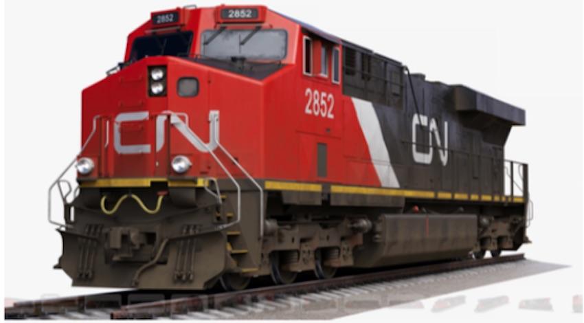 Locomotora Tren Maya