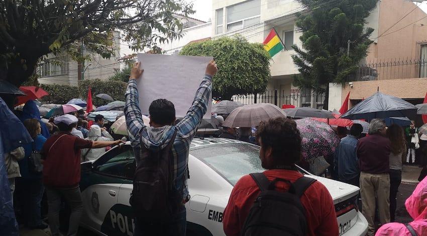 Manifestación Bolivia