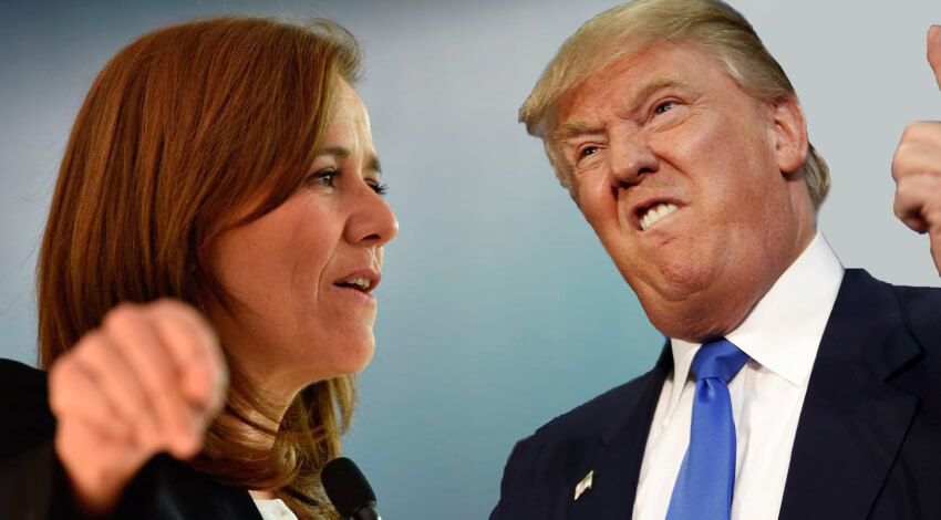 Margarita Zavala Vs. Trump