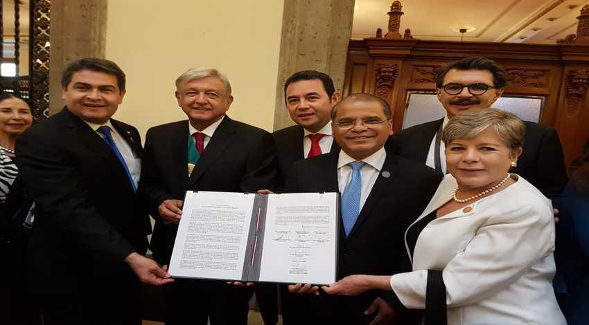 Migración México, El Salvador, Guatemala, Honduras