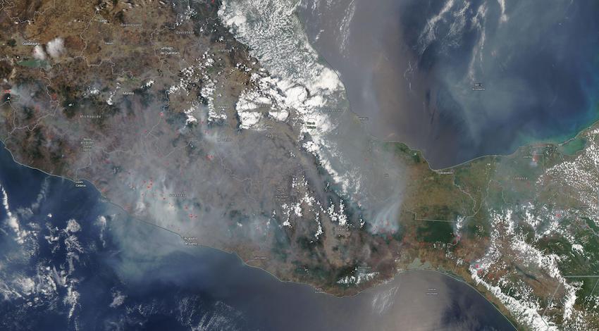 Nasa Incendios México