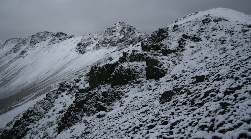Nevadas áreas naturales protegidas
