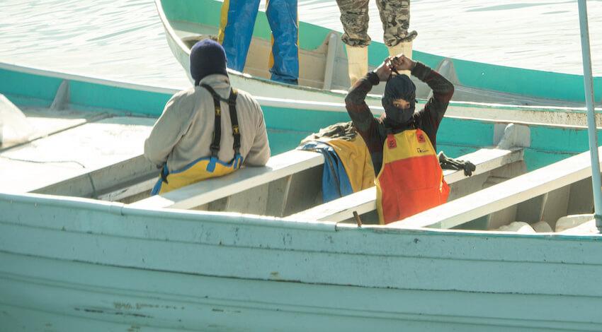 Ataque barco Sea Shepherd - Menor de edad