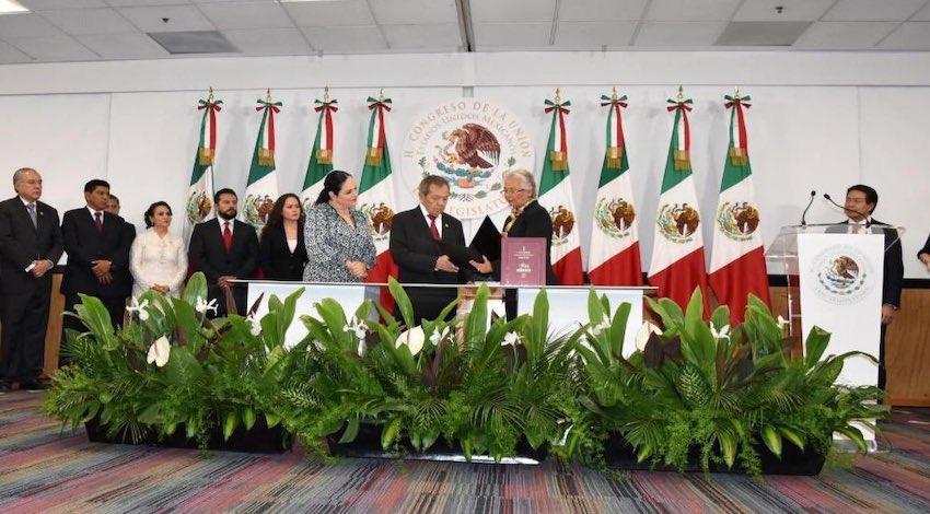 Olga Sánchez Cordero Primer Informe
