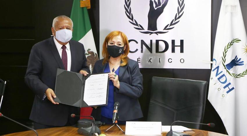 Convenio INM - CNDH