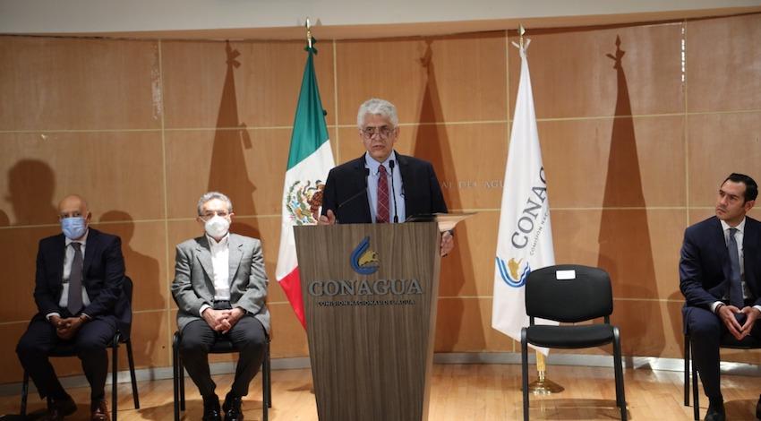 Titular de la Conagua, Germán Martínez Santoyo
