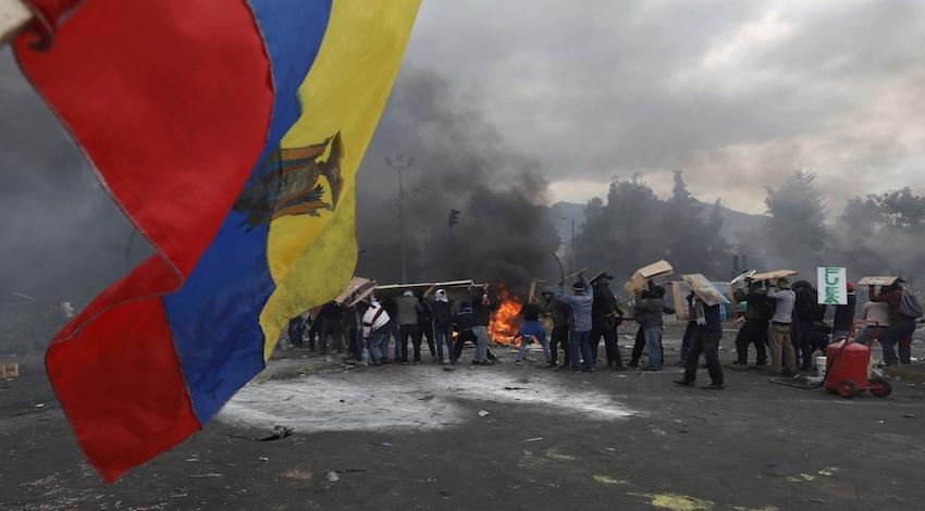Protestas Ecuador