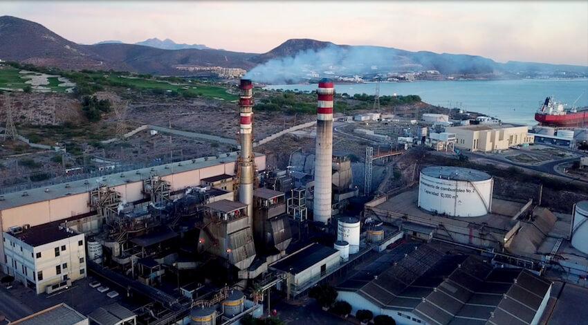 Termoeléctrica Punta Prieta CFE - BCS