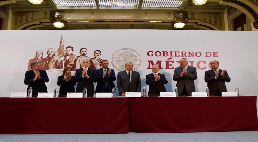 AMLO Reunión Embajadores