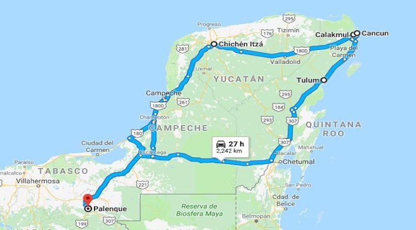 Ruta Tren Maya