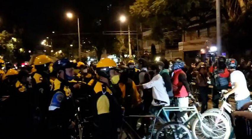 Agresión ciclistas