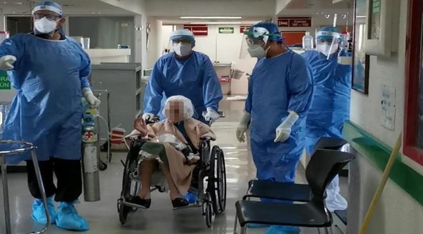 Paciente 103 años Covid-19