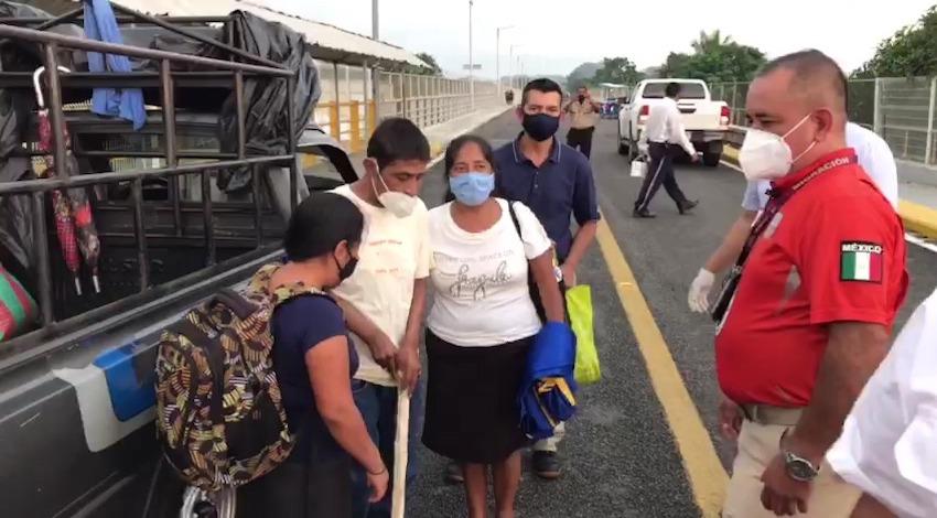 Joven migrante Guatemala
