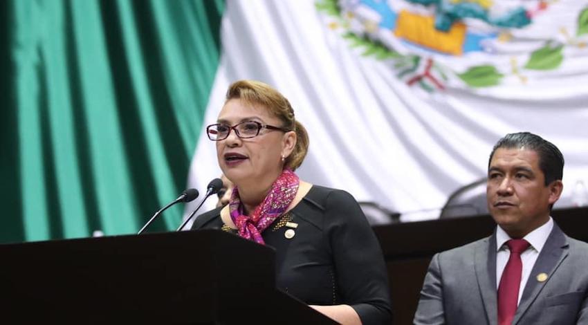 Diputada de Morena, Lucía Flores Olivo