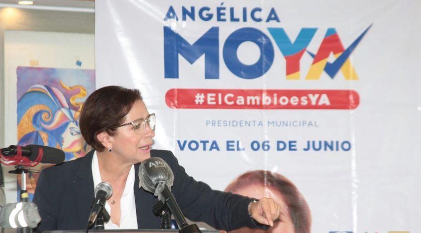 Angélica Moya - candidata de la Coalición Va por México a la Alcaldía de Naucalpan