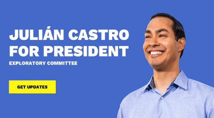 Julián Castro busca Presidencia de Estados Unidos