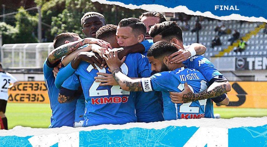 Nápoles 1-4 sobre el Spezia
