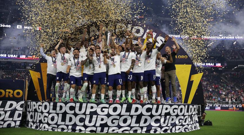 EUA Campeón Copa Oro