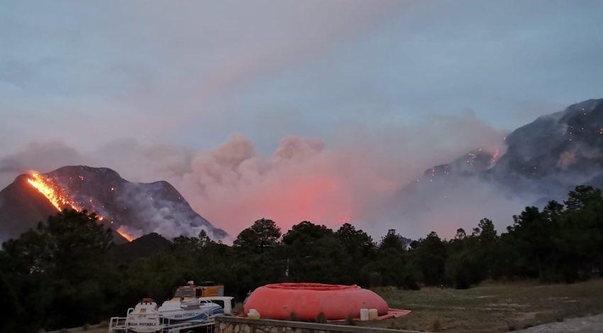 Incendio Forestal NL