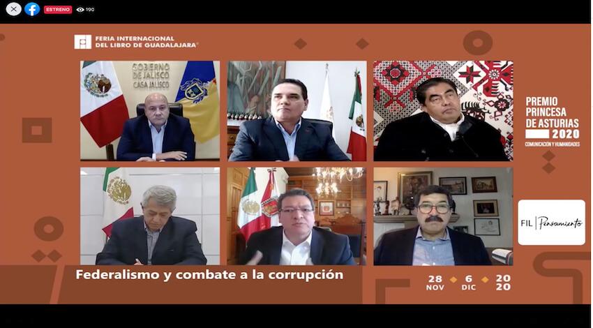 Foro Gobernadores FIL Guadalajara