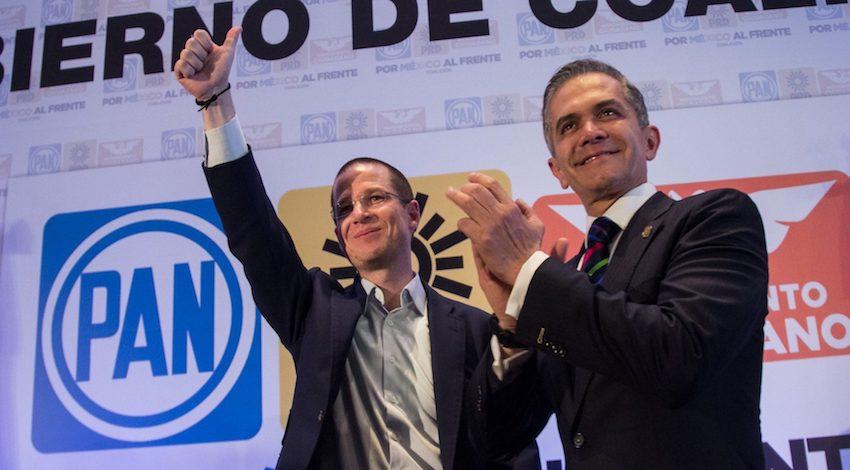 Mancera apoyó a Anaya en elecciones presidenciales