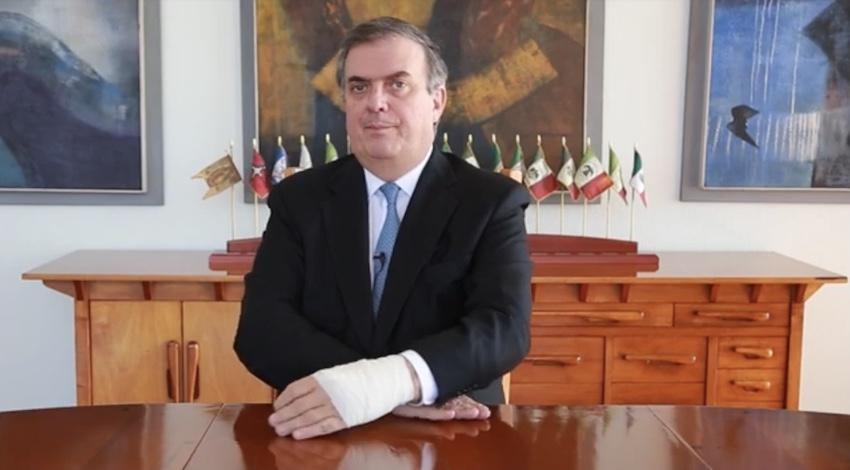 Marcelo Ebrard vacunas EU