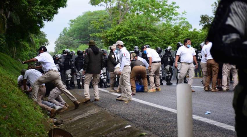 Agresiones migrantes Chiapas