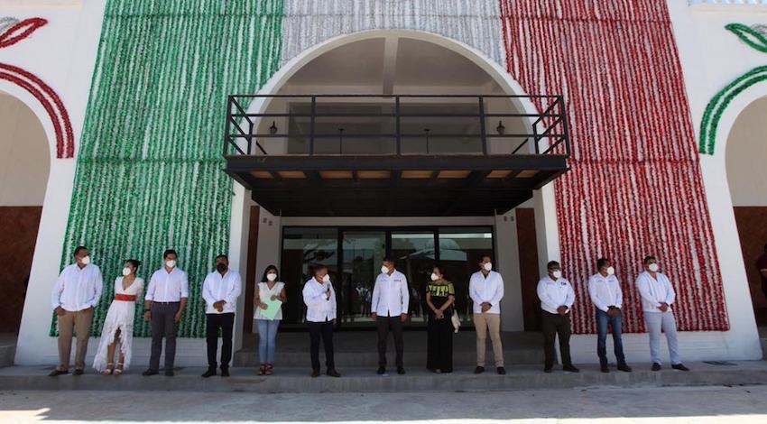 Palacio Municipal de Asunción Ixtaltepec
