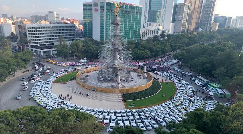 Taxis Ángel de la Independencia