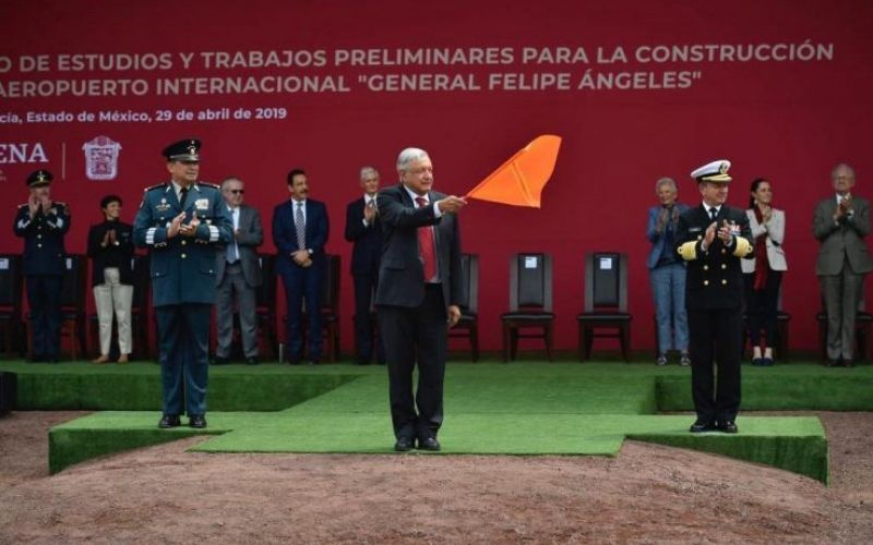 AMLO Aeropuerto Felipe Ángeles